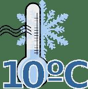 Weintemperatur ab 10°C