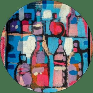 Wein-Gemälde