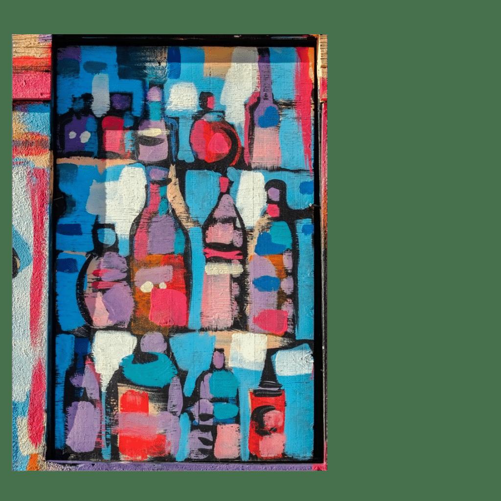 Gruss-Karte für Weingeschenke