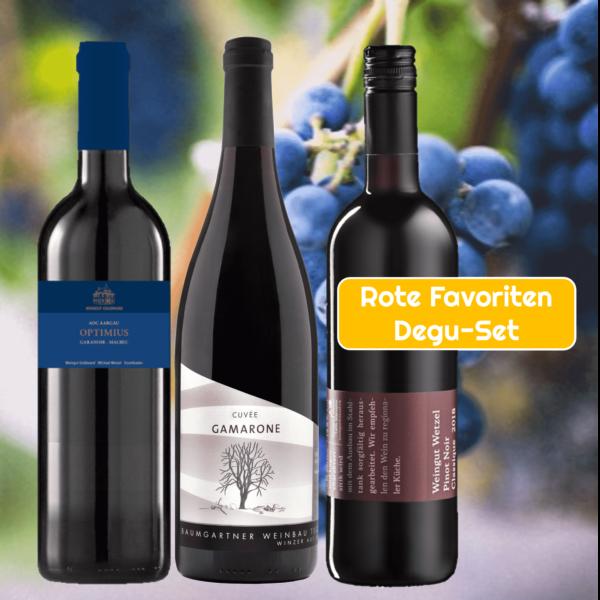 Aargauer Rotwein-Favoriten Degu-Set