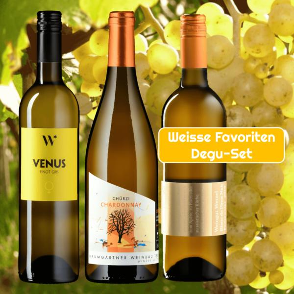 Aargauer Weisswein-Favoriten Degu-Set